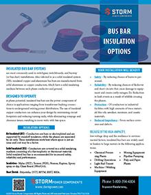 bus bar insulation options
