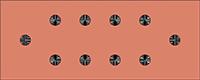 5 inch ham radio ground bar