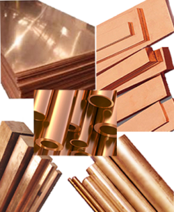hoja de cobre, barra, varilla, tubo de bus