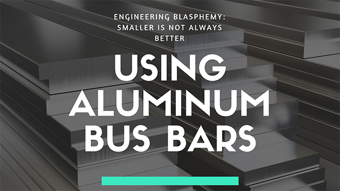 image of aluminum bus bars