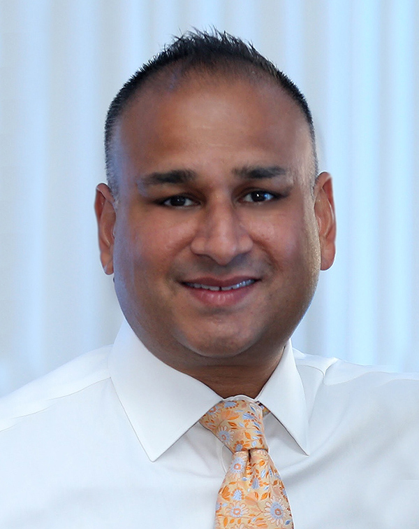 head shot of dr. neil patel of brain and spine surgeons of new york