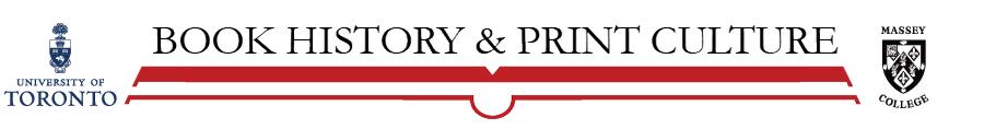 Book History & Print Culture