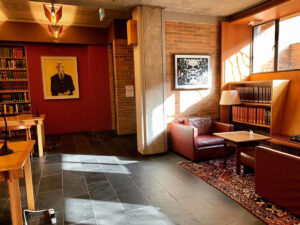 Robertson Davies Library at Massey College