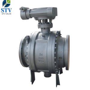 China Trunnion Ball Valve