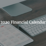 2020 Financial Calendar