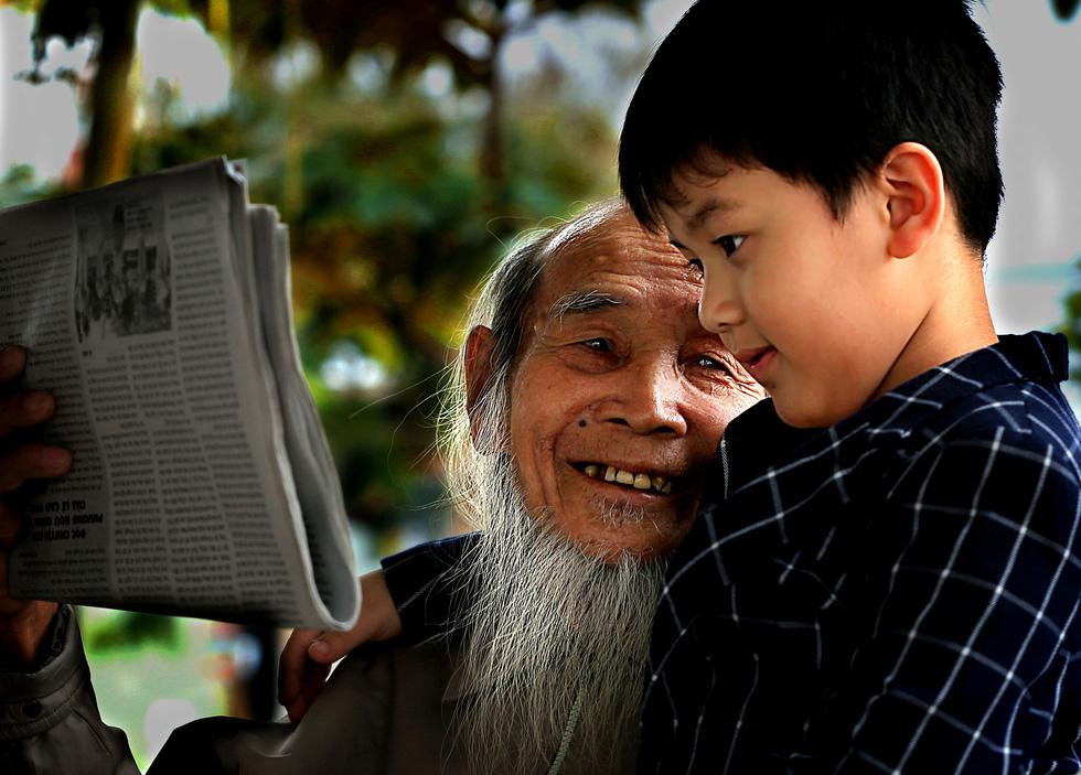 Ngắm những khoảnh khắc yêu thương gia đình ở khắp nẻo Việt Nam - Ảnh 11.