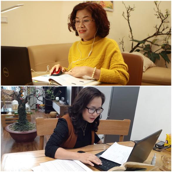 Trường THCS & THPT Nguyễn Tất Thành cho 100% học sinh học trực tuyến - Ảnh 13.