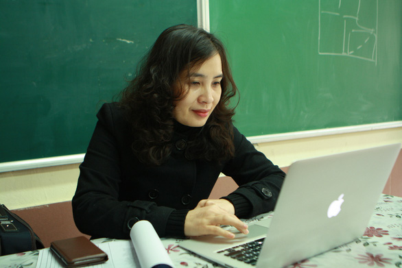 Trường THCS & THPT Nguyễn Tất Thành cho 100% học sinh học trực tuyến - Ảnh 7.