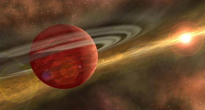 Ảnh đồ họa hành tinh 2MASS 1155-7919 b, /// NASA/JPL