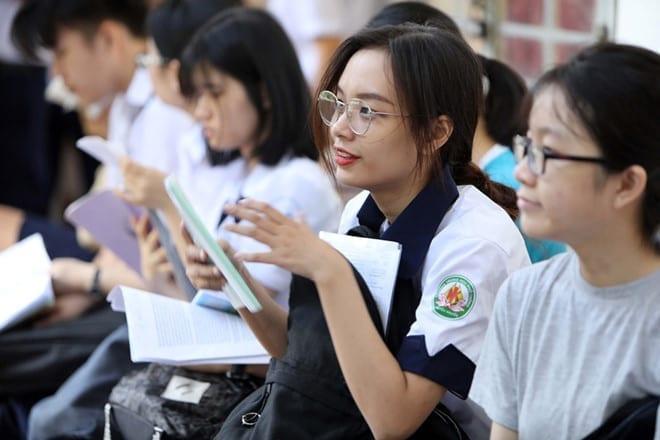 Thí sinh dự thi THPT quốc gia 2019 /// Ngọc Dương