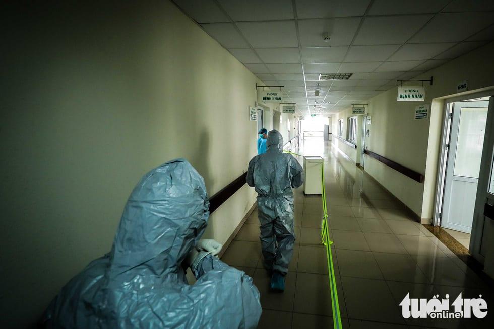 Cận cảnh nơi chữa 46 bệnh nhân dương tính trong trận chiến chống COVID-19 - Ảnh 3.