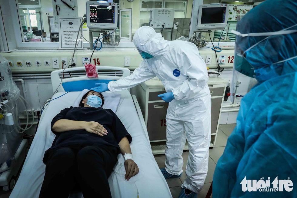 Cận cảnh nơi chữa 46 bệnh nhân dương tính trong trận chiến chống COVID-19 - Ảnh 12.