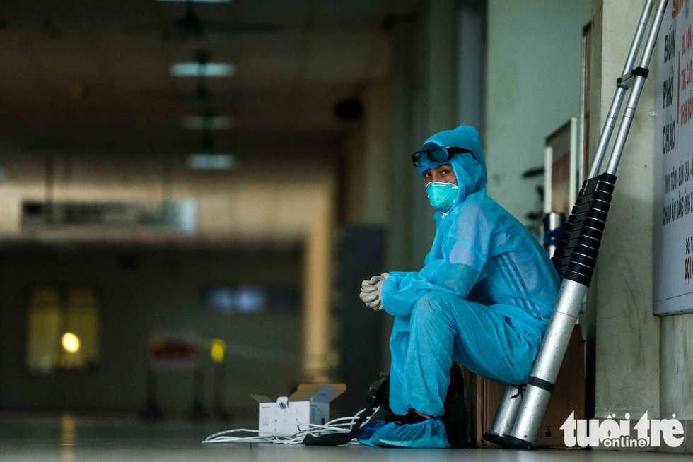 Cận cảnh nơi chữa 46 bệnh nhân dương tính trong trận chiến chống COVID-19 - Ảnh 15.