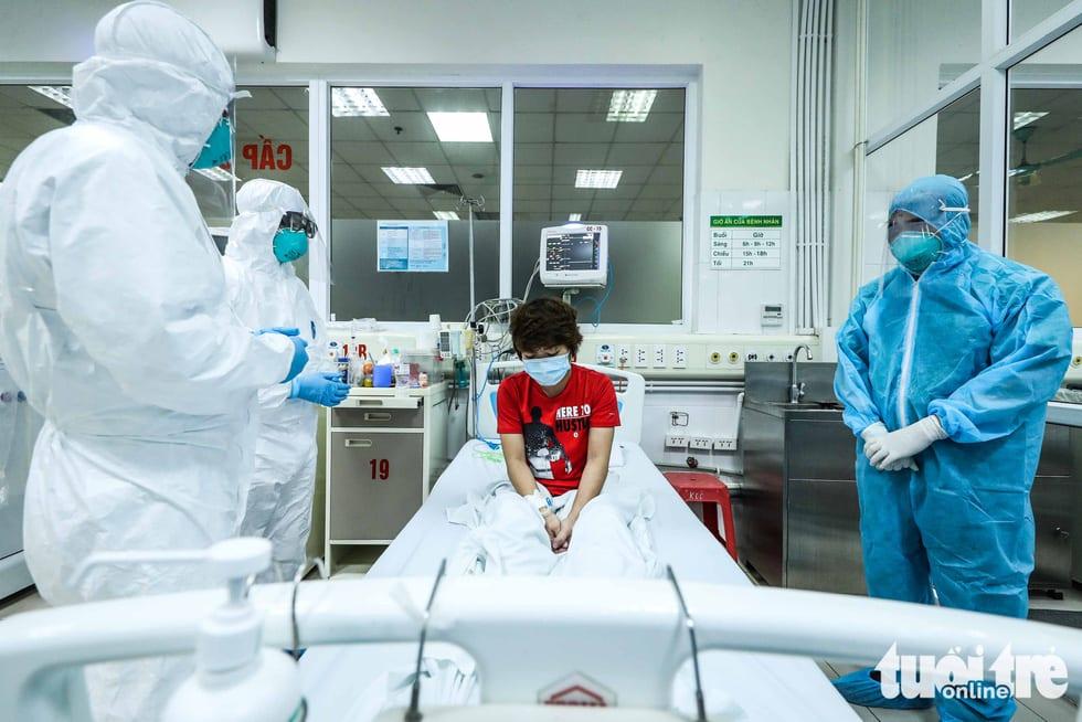 Cận cảnh nơi chữa 46 bệnh nhân dương tính trong trận chiến chống COVID-19 - Ảnh 11.