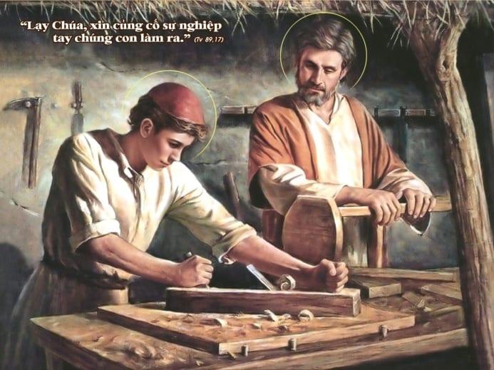 Kết quả hình ảnh cho đức thánh cha lao động