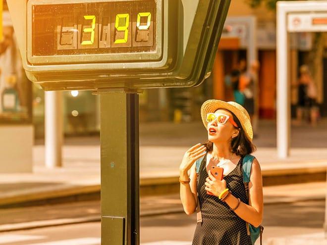 Thời tiết nắng nóng có thể gây kiệt sức và đột quỵ do nhiệt /// ShutterStock