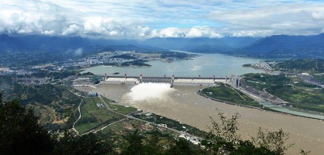Đập Tam Hiệp ở tỉnh Hồ Bắc, Trung Quốc /// Ảnh: Shutterstock