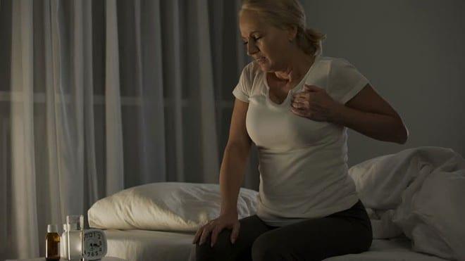 Cơn co thắt động mạch vành thường xảy ra từ nửa đêm về sáng /// Ảnh minh họa: Shutterstock
