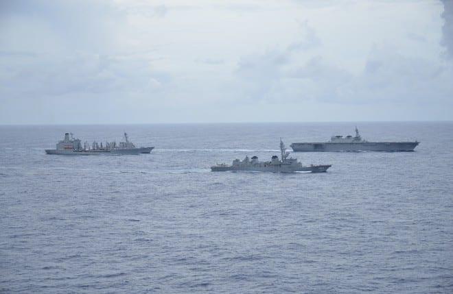 Thế trận tàu sân bay của liên minh 'NATO châu Á' ở Biển Đông - ảnh 2