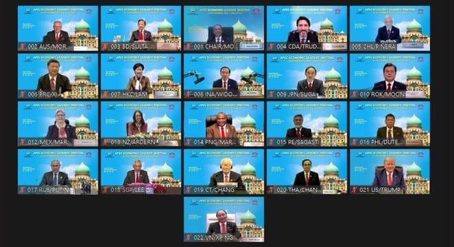 Lãnh đạo các nước tham dự hội nghị cấp cao APEC ngày 20.11 /// Reuters