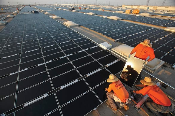 Điện mặt trời: Để năng lượng sạch thật sự xanh - Ảnh 2.