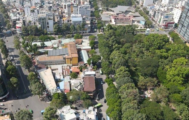 TP.HCM lên kế hoạch di dời trụ sở, cơ quan, nhà dân ra khỏi công viên - ảnh 1
