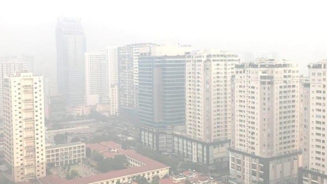UBND TP.Hà Nội chỉ đạo các sở ban ngành xây dựng kịch bản chi tiết ứng phó ô nhiễm không khí /// Ảnh Lê Quân