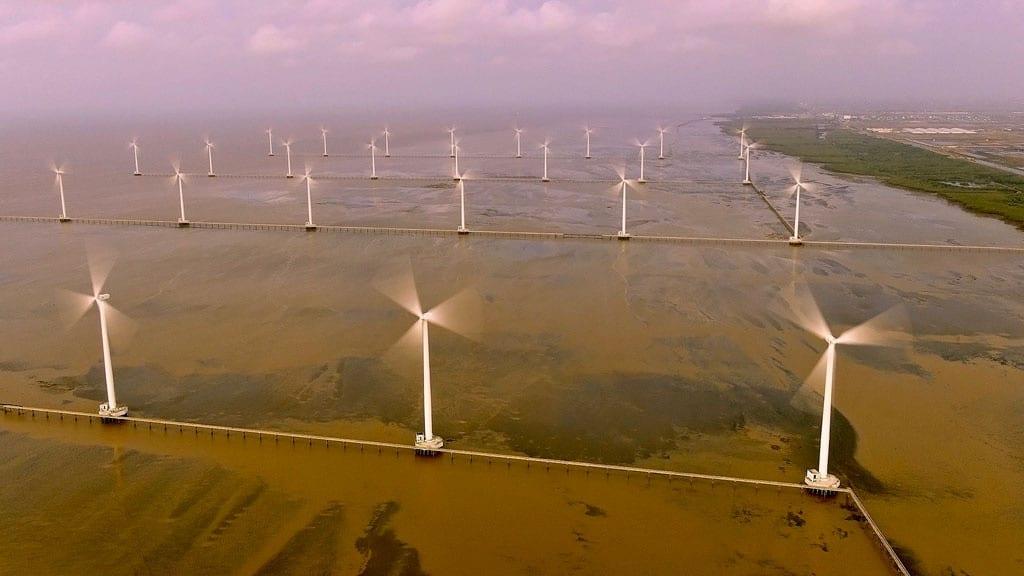 Năng lượng tái tạo như điện gió được xem là giàu tiềm năng ở ĐBSCL /// ĐÌNH TUYỂN