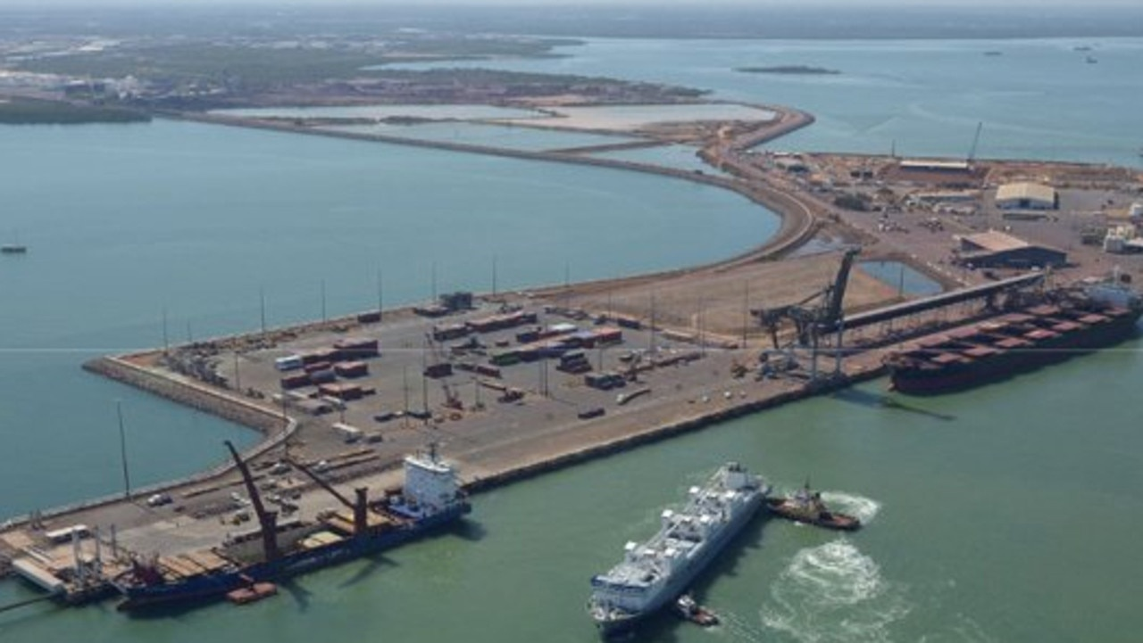 Cảng Darwin đã cho Trung Quốc thuê trong 99 năm /// Ảnh chụp màn hình ABC