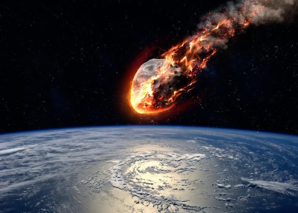 Tiểu hành tinh giả định đang lao xuống Trái đất /// Shutterstock