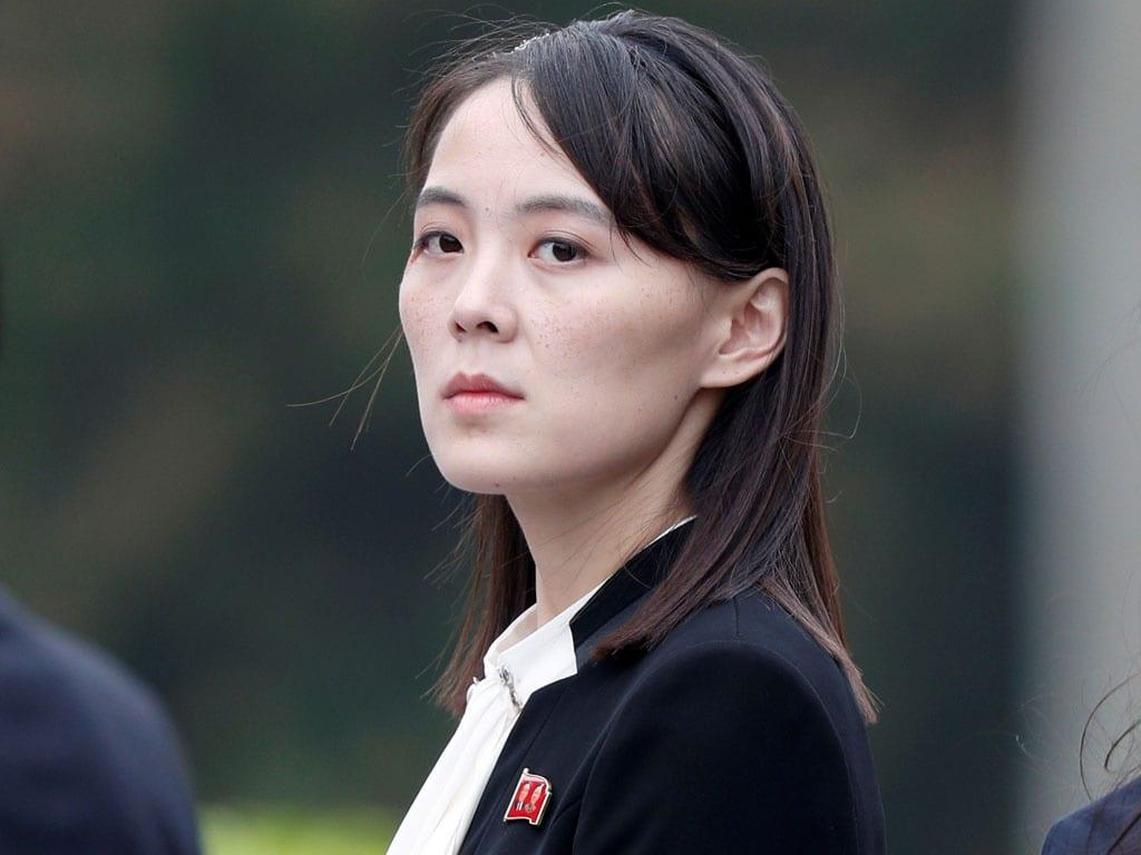 Bà Kim Yo-jong, em gái Chủ tịch Kim Jong-un /// REUTERS