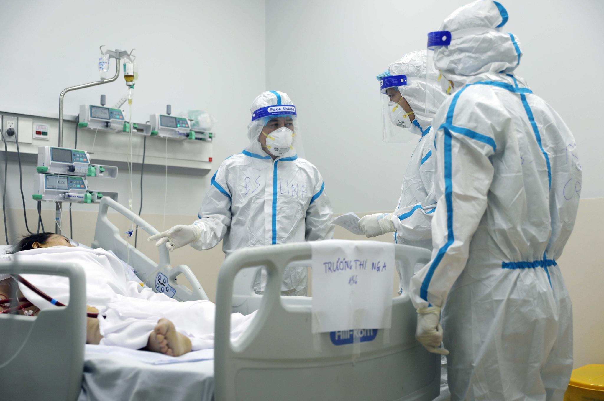 Bệnh viện Hồi sức Covid-19 được lập ra là hướng đi đúng đắn trong giai đoạn hiện nay /// ẢNH: NGỌC DƯƠNG