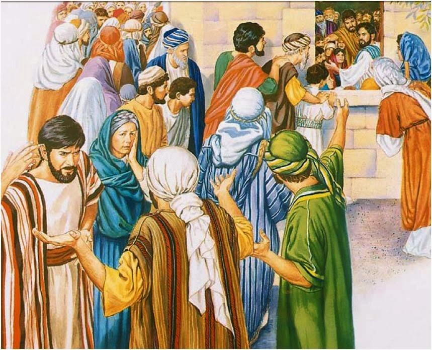 Palabra de Dios diaria.: LECTURAS DEL MARTES XVI DEL T. ORDINARIO 23 DE  JULIO (VERDE)