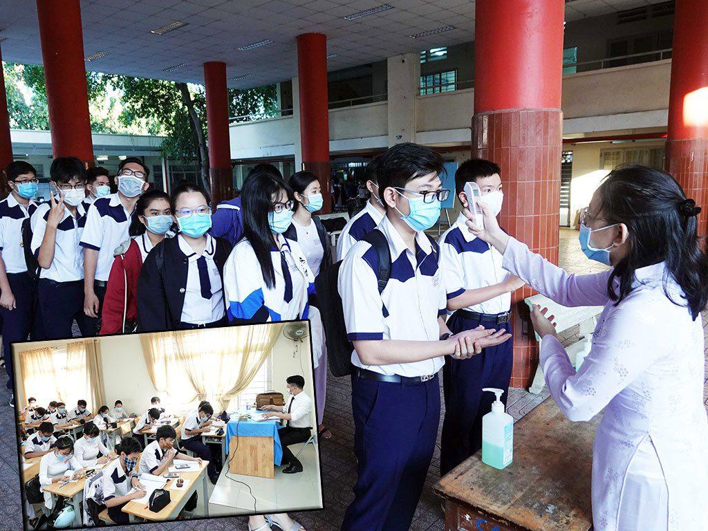 Sở GD-ĐT TP.HCM nhận định sau ngày 15.9 khi mở cửa trở lại các ngành, cũng cần tính toán cho học sinh quay lại trường /// Ảnh: Đào Ngọc Thạch