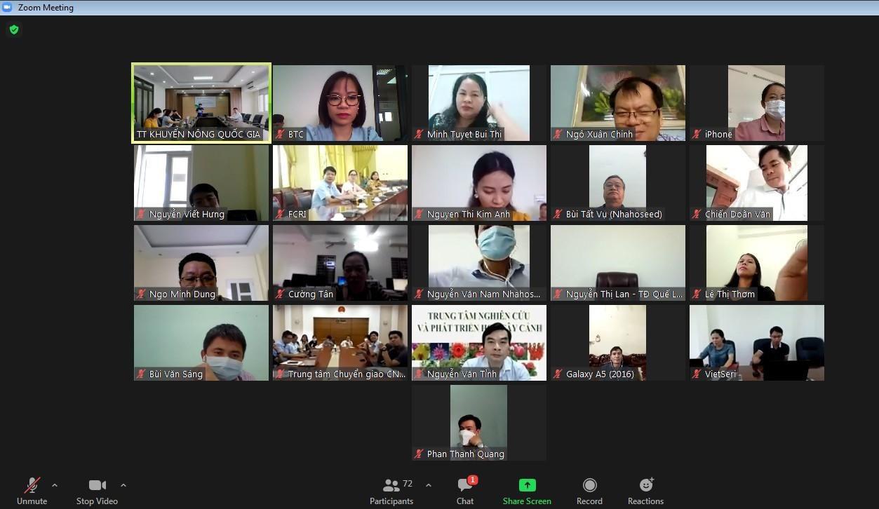 Chuyển đổi số trong khuyến nông: Biến lớp học trực tiếp thành lớp học online - ảnh 2