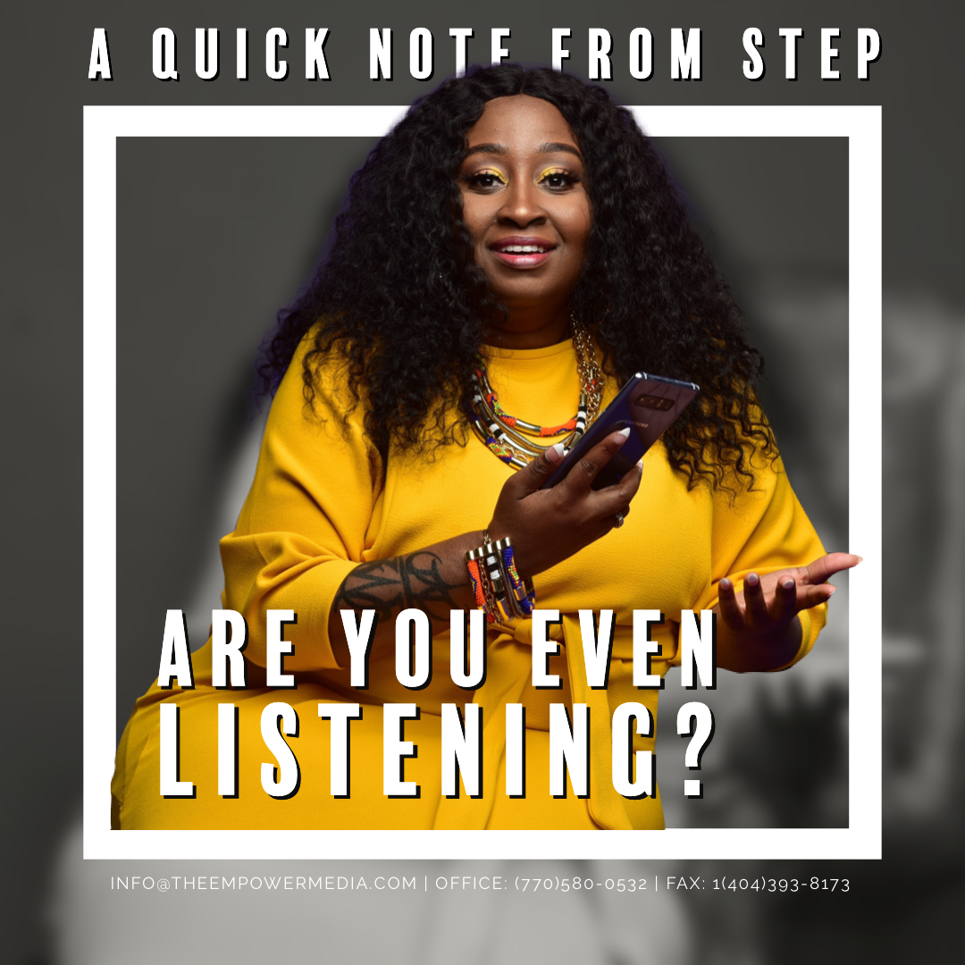 Are You Even Listening To Your Audience?