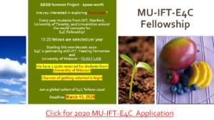 MU-IFT-E4C FELLOWSHIPS 2020