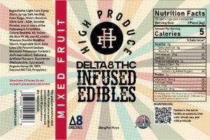 ∆8 high produce gummies