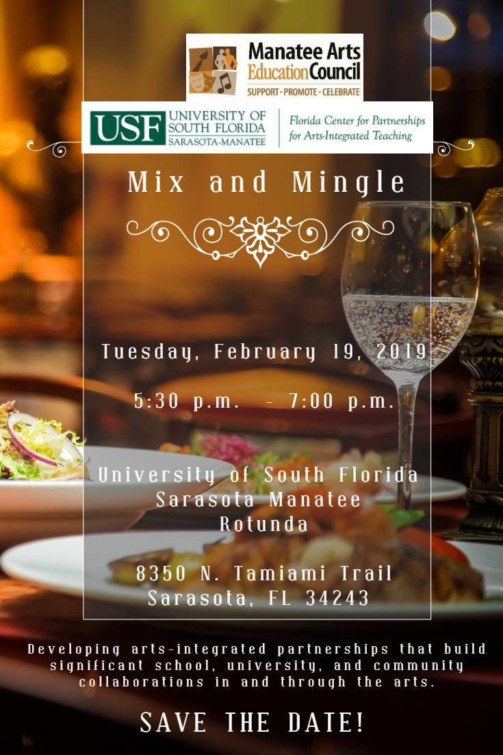 Mix and Mingle SAVE THE DATE February 2019