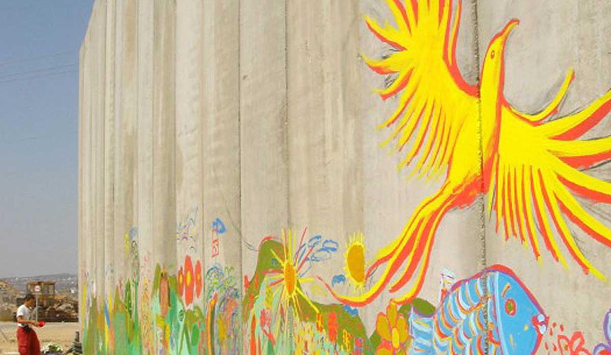 Aamer Mural, West Bank, Occupied Palestine