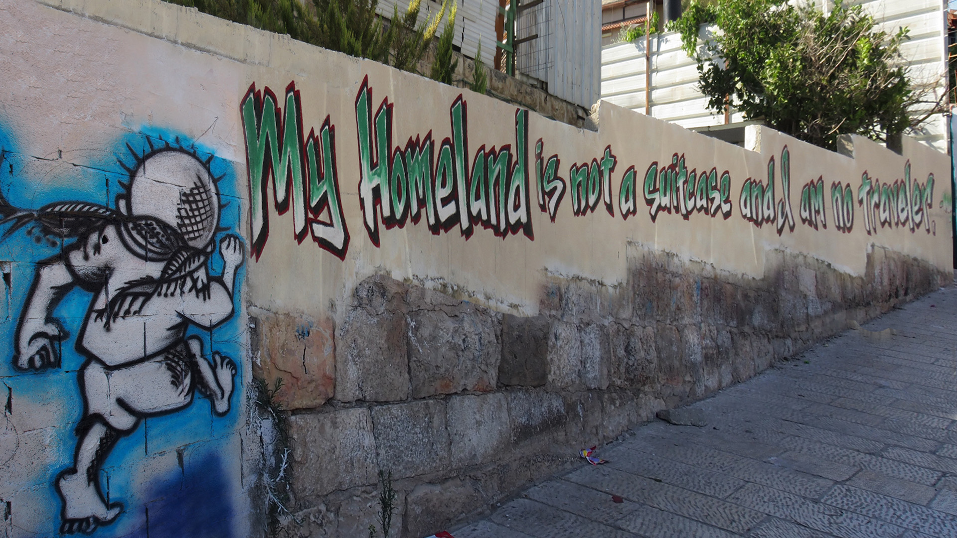 My Home is Not a Suitcase, Silwan, East Jerusalem
