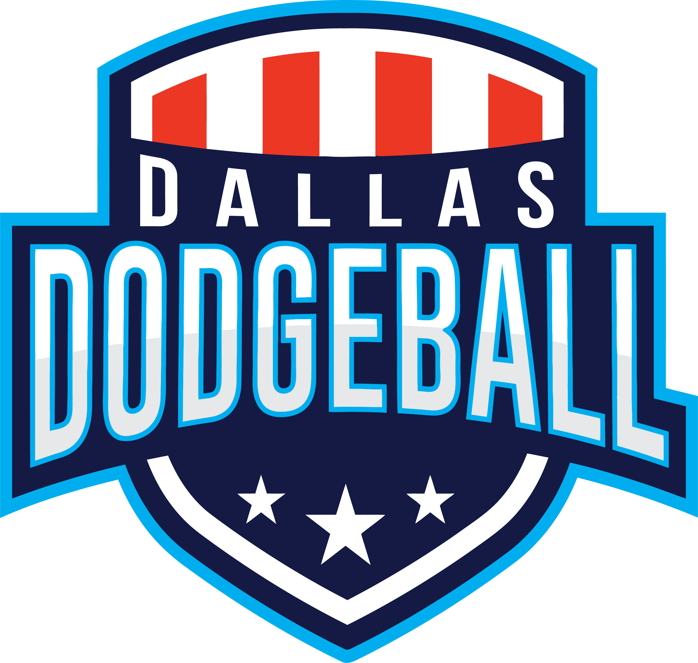 Dallas Dodgeball Color Logo