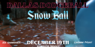 Snow Ball Dodgeball Party
