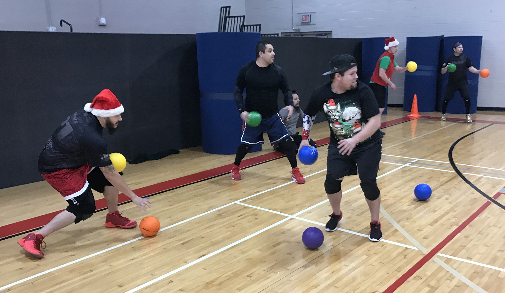 Dodgeball Christmas Party