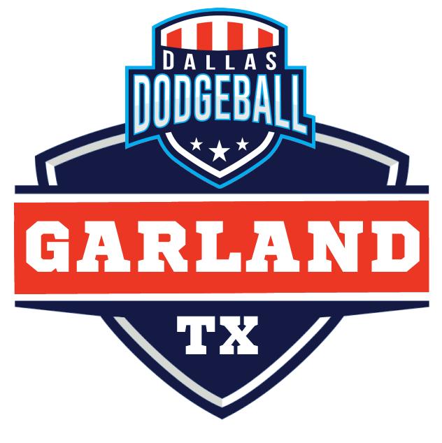 Garland Dodgeball Logo