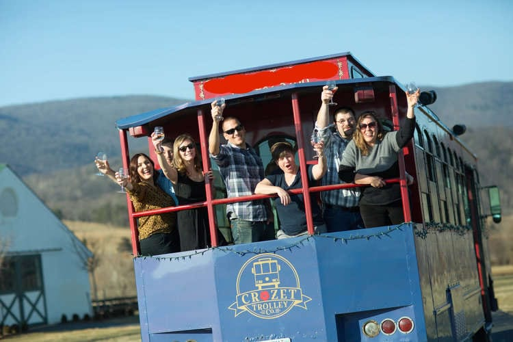 Best Charlottesville Area Wineries by Trolley