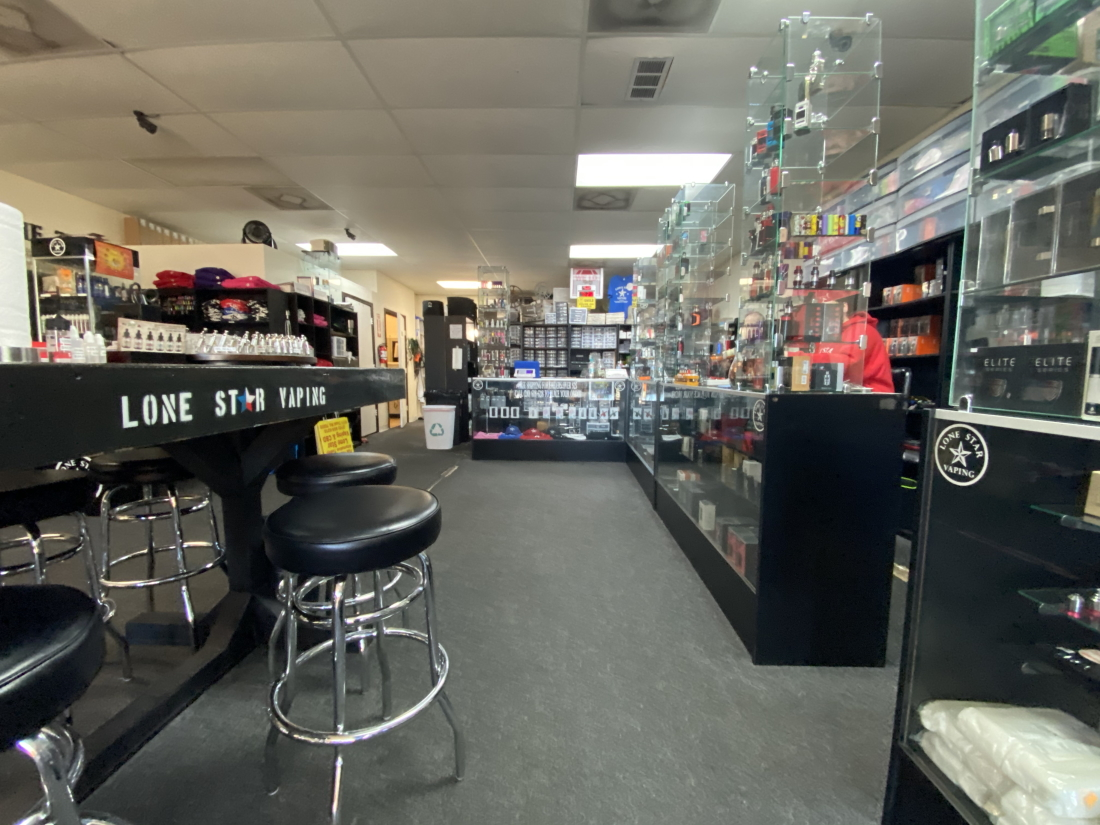 Vape Shop Interior
