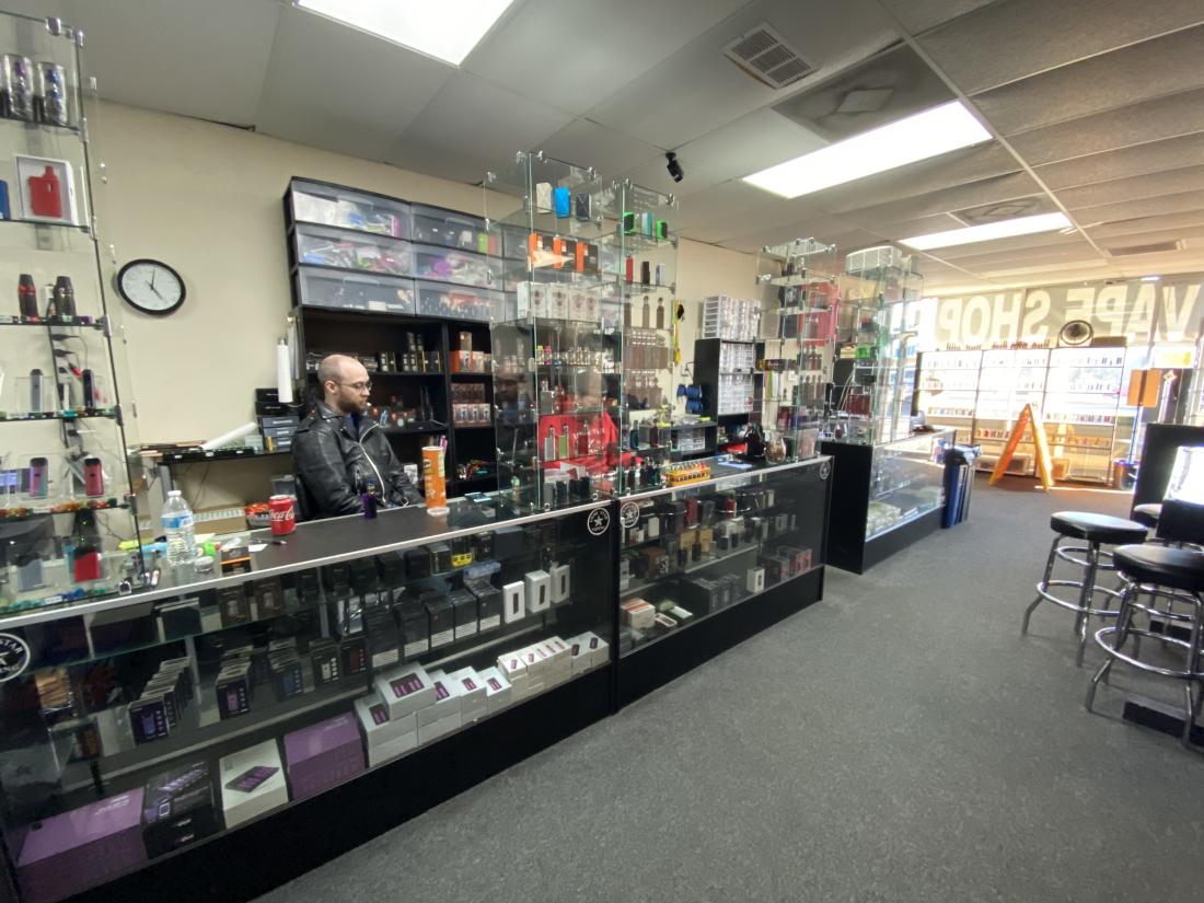 Vape Store Interior