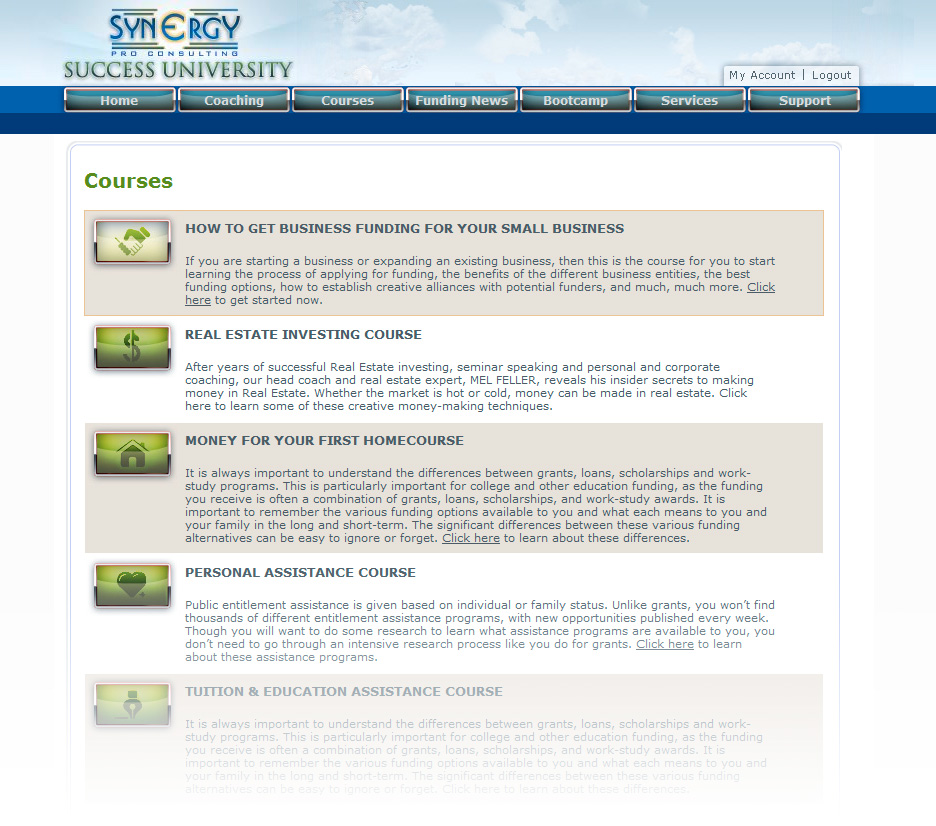 Synergy_LC7_courses
