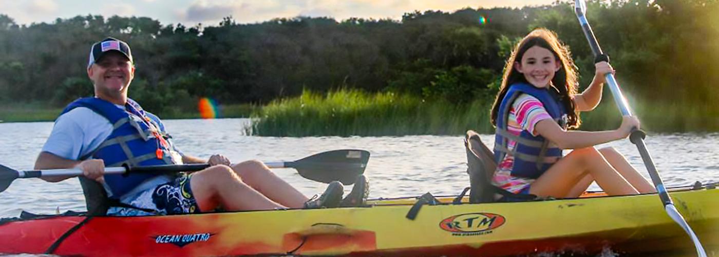 Anastasia State Park Kayak1400x500